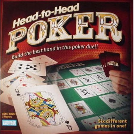Parker Brothers Head to Head Poker Game 6 Games in 1 Best Card Hand Duel ()