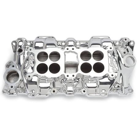 Manifold C26 Dual Quad - Edelbrock 54254 C-26 Dual-Quad Intake Manifold