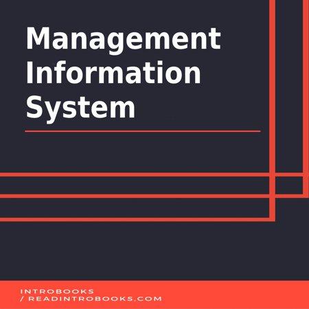 Management Information System - Audiobook (End User Development In Management Information Systems)