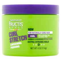 Hair Styling: Garnier Fructis Style Curl Stretch Loosening Pudding