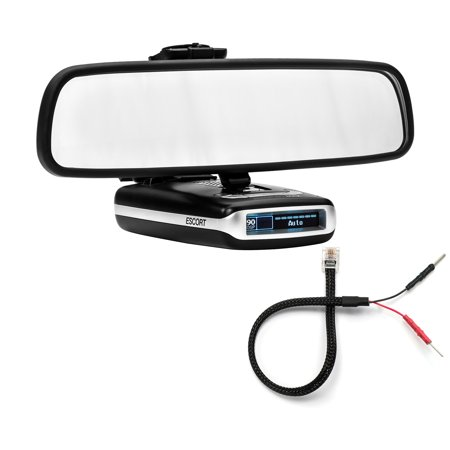 Mirror Mount Bracket + Mirror Wire Cord - Escort MAX360 MAX2