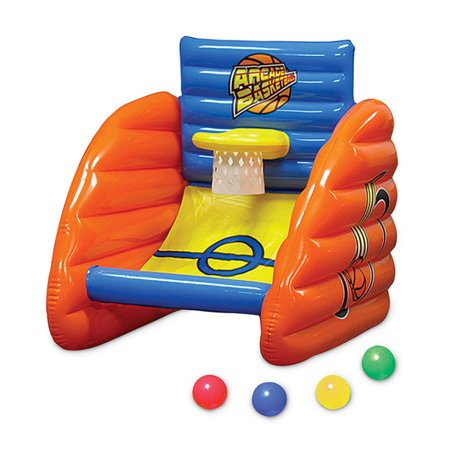 32 Aqua Fun Inflatable Swimming Pool Arcade Basketball Game
