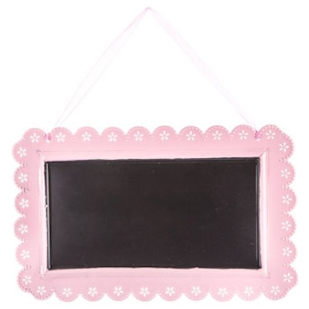 Pink Metal Chalkboard with Scalloped Edge Party Supplies All Occasion Parties Birthday Wedding Sweet 16