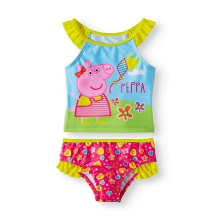 0d4396a95a Peppa Pig - Tankini (Toddler Girls) - Walmart.com