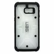 Urban Armor Gear Case for Samsung Galaxy S6 Edge Plus Clear and Black (Refurbished)