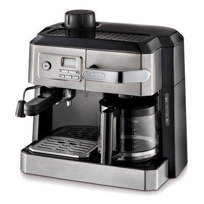 Delonghi Combination Coffee/Cappuccino Maker, Espresso