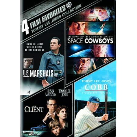 4 Film Favorites: Tommy Lee Jones Collection (Meryl Streep Tommy Lee Jones Steve Carell)