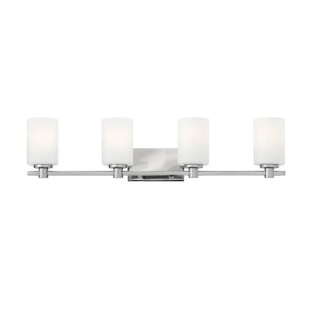 (Hinkley Lighting 54624 4-Light Bathroom Fixture from the Karlie Collection)