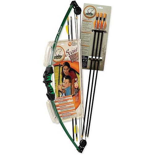 Bear Archery Scout Youth Archery Set w/ 3 Arrows