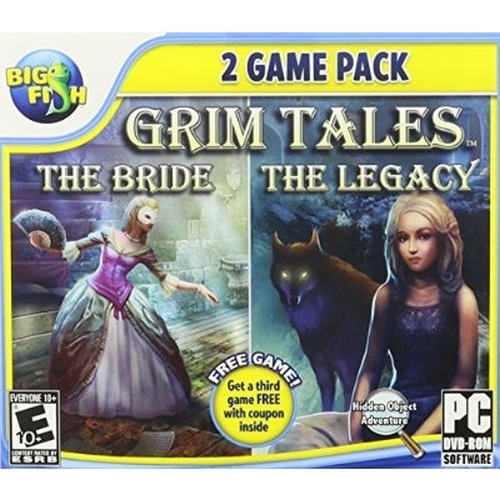 Grim Tales Two Pack: The Bride and The Legacy - PC