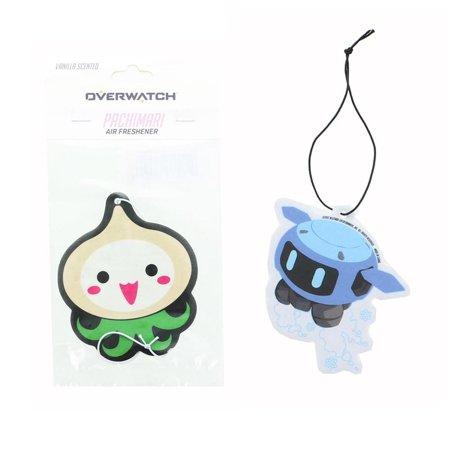 - Overwatch Patchimari and Snowball Air Freshener, 2 Pack Set