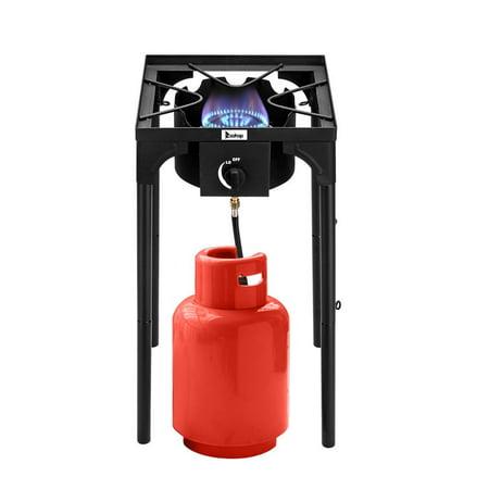 ROVSUN Portable Propane 75,000-BTU Single Burner Outdoor cooker Camp