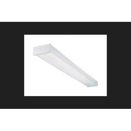 Metalux Fluorescent Wrap Utility Light Fixture - Walmart.com