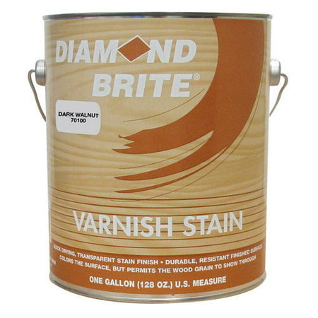 Diamond Brite 70100-4 1 qt Dark Walnut Varnish Stain