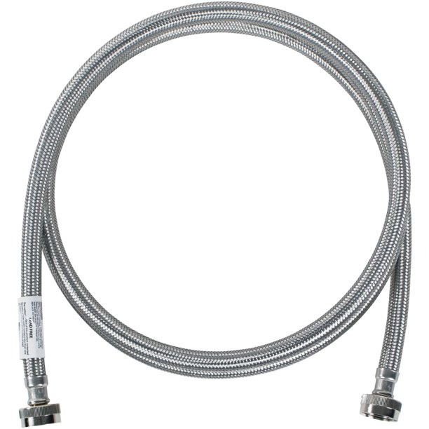 Certified Appliance Accessories WM96SS Braided Stainless Steel Washing Machine Hose, 8ft