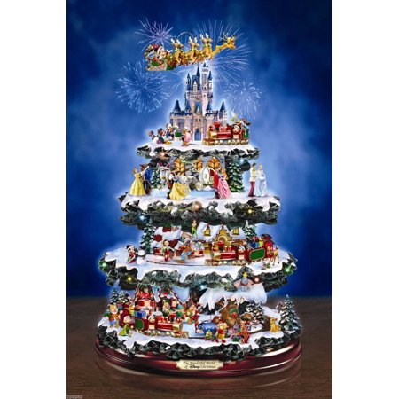 disney the wonderful world of disney christmas bradford exchange tree