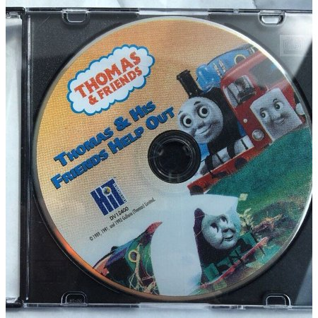 Thomas and Friends-Thomas And His Friends Help Out DVD-TESTED-RARE-SHIPS N 24 HR ()
