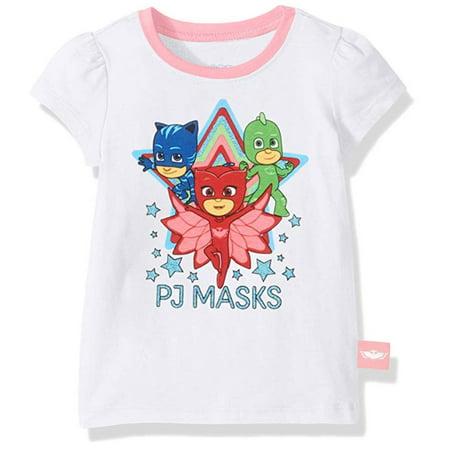 e055c5314 PJ Masks - PJ Masks Toddler Girls' Owlette, Catboy & Gekko T-Shirt - Bright  Pink, White or Grey- Sizes 2T, 3T, 4T & 5T - Walmart.com