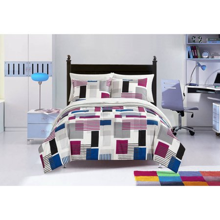 Your Zone Charlie Geo Bed in a Bag Bedding Set