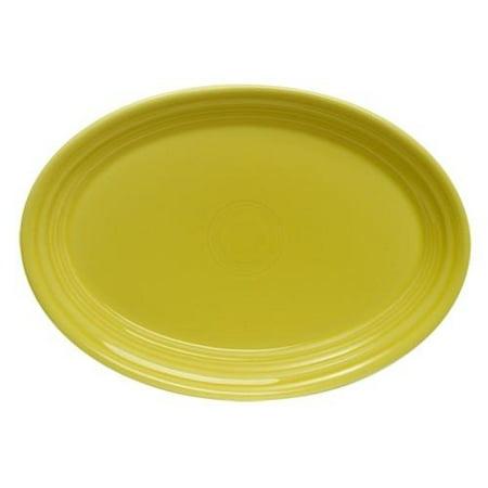 """Fiesta®  Small 9.6"""" Oval Serving Platter - Sunflower"""