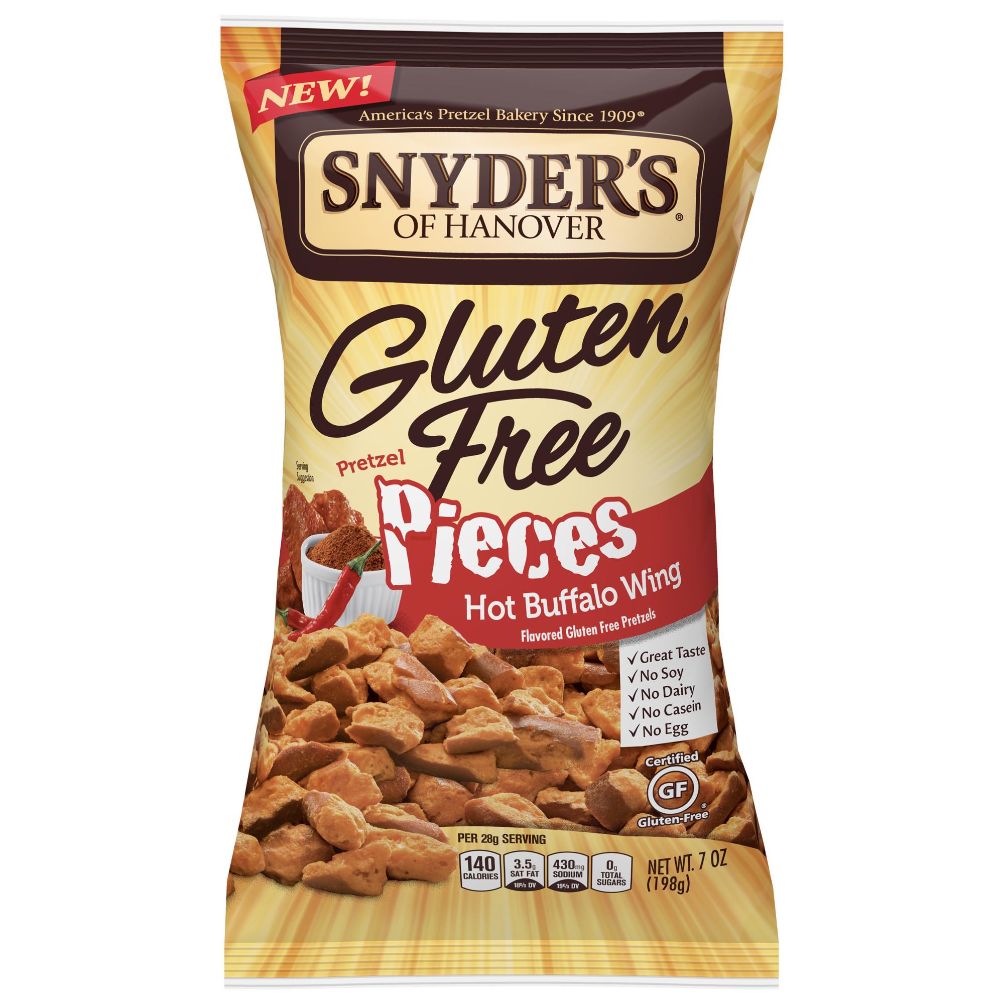 (2 Pack) Snyder's of Hanover Gluten Free Pretzel Pieces ...
