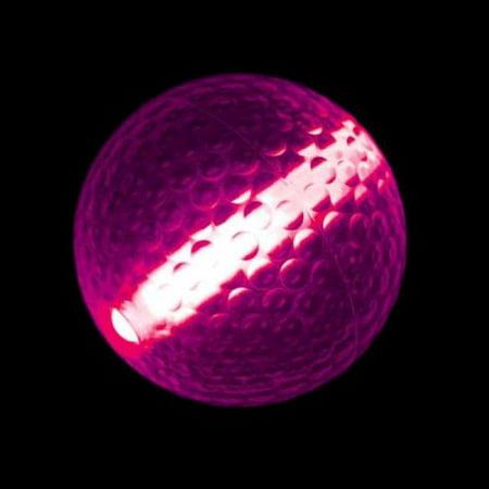 Glow Stick Golf Ball Pink (Glow Golf Supplies)