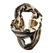 Collection Eighteen Women's Animal Print Infinity Scarf