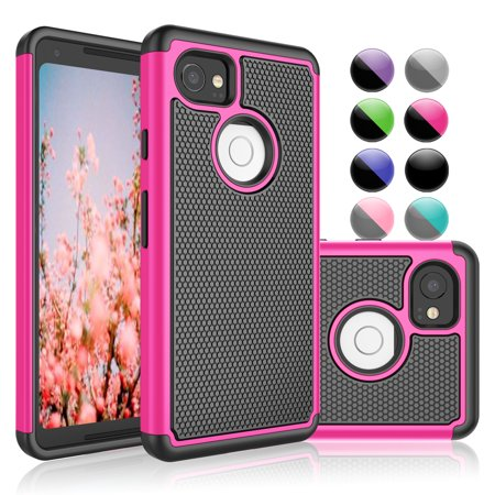 the best attitude dd131 bc709 Google Pixel 2 XL Case, Google Pixel 2 XL Phone Case, Njjex Hybrid Dual  Layer Shock-Absorption Slim Protective Case Cover For Google Pixel 2 XL  (2017) ...