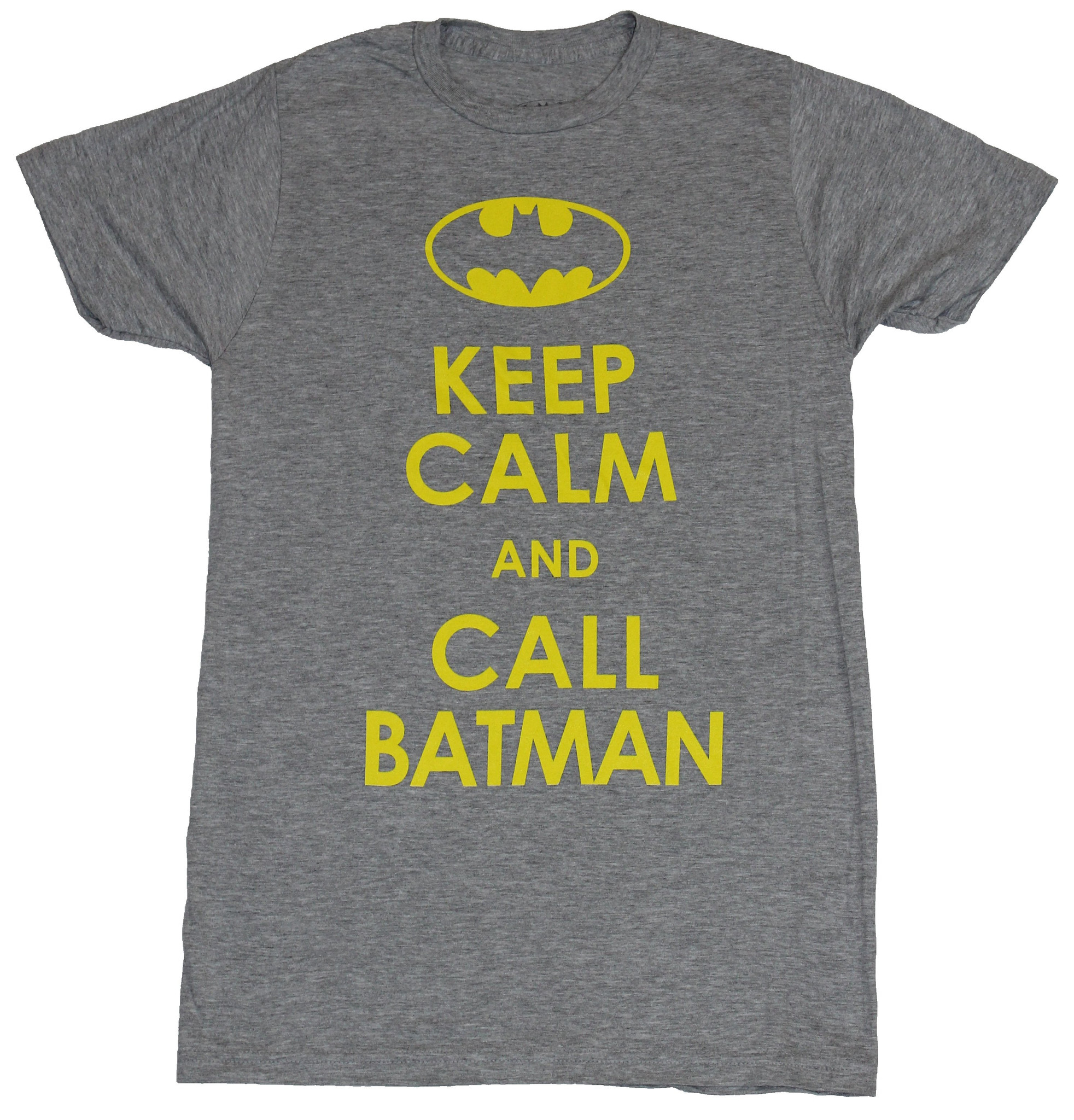 Batman (DC Comics) Mens T-Shirt -  Keep Calm and Call Batman
