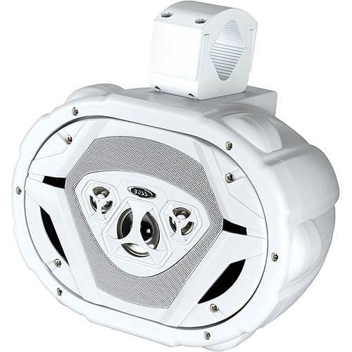 "Boss Audio 6"" x 9"" 4-Way, Car Speakers Wake Tower Speaker, MRWT69W (Single Speaker)"