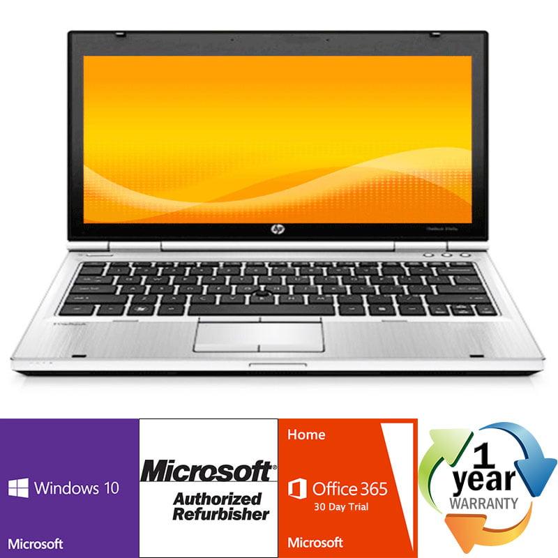 Refurbished HP EliteBook 2570p i5 2.8GHz 8GB 320GB DVD Windows 10 Pro 64 Laptop Camera by HP
