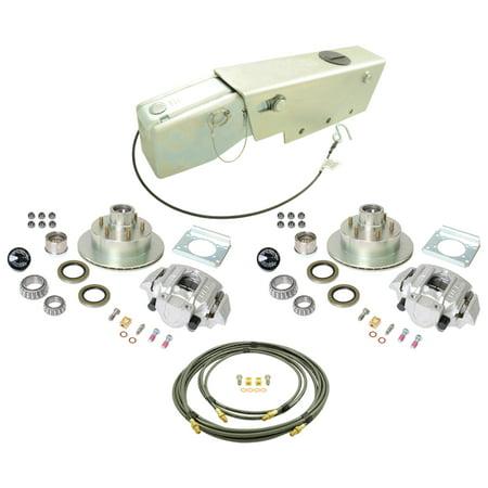 UFP K71-115-00 Complete 6 on 5.5 Bolt Pattern Alum Caliper A-84 6000# Rating Zinc+ Rotor Disc Brake