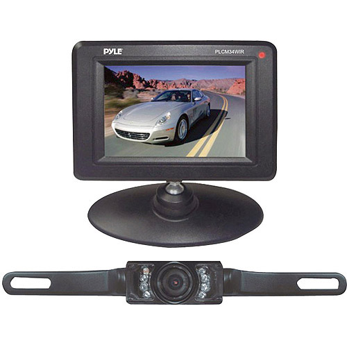 "Pyle Audio 3.5"" Monitor Wireless Back-Up Rearview and Night Vision Camera System"