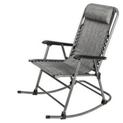 Zimtown Zero Gravity Rocking Chair Patio Lawn Chair,Reclining Folding Chairs,Portable Recliner for Camping Fishing Beach