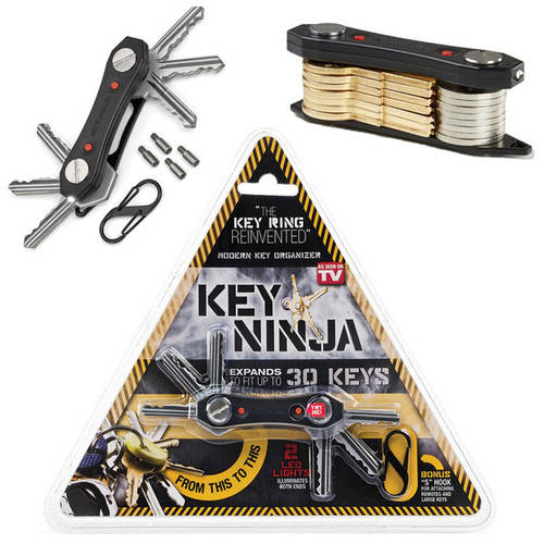The Key Ninja Flashlight and Key Organizer