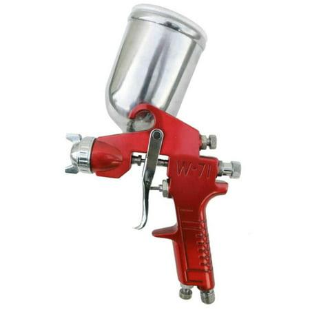 SPRAYIT Gravity Feed Spray Gun with Aluminum Swivel Cup