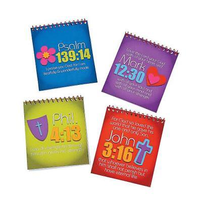 IN-36/2415 Live in His Love Spiral Color Pads with Stickers Per Dozen