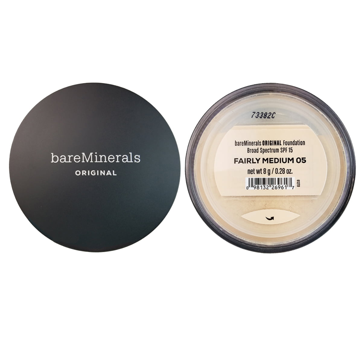 Bareminerals 32 Value Bareminerals Original Loose Powder Foundation Spf 15 05 Fairly Medium 0 28 Oz Walmart Com Walmart Com