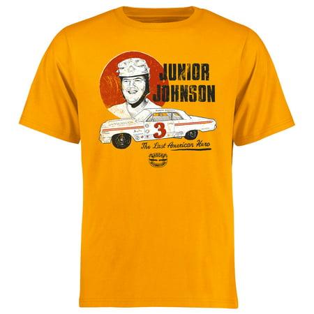Junior Johnson Retired Driver T-Shirt - (Army Nascar Driver)