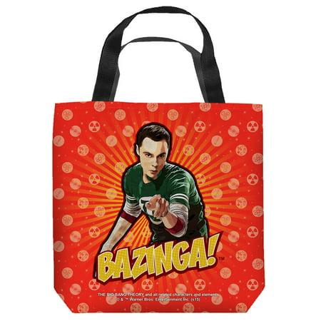 The Big Bang Theory Sitcom Series Tv Show Cbs Poster Tote Bag