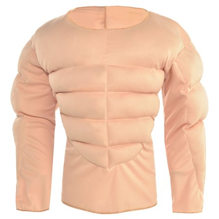 Halloween City Costumes 2019 For Kids (Muscle Padding Shirt Halloween Costume Accessory for Kids, Large/ Extra)