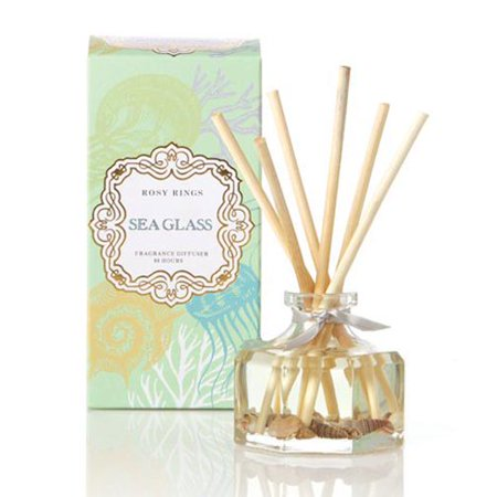 - Rosy Rings Petite Botanical Reed Diffuser 2.9 Oz. - Sea Glass