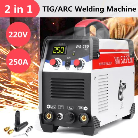 2In1 TIG/ARC Handheld Mini Electric Welder 220V/7000W 250A Inverter Welding Machine