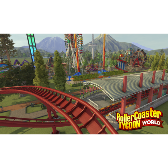 RollerCoaster Tycoon World [Digital Download]