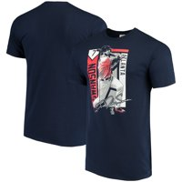 Dansby Swanson Atlanta Braves Color Block Series Player Graphic T-Shirt - Navy
