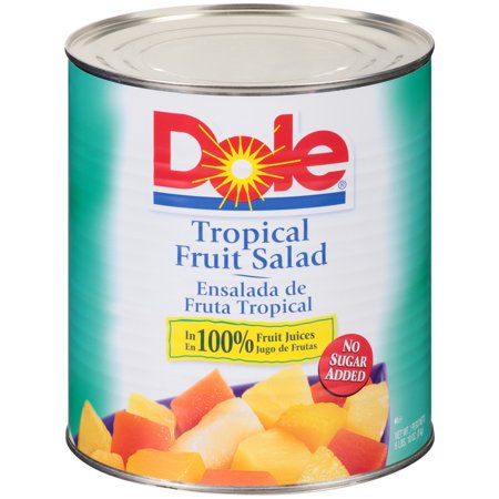 - (Price/case)Dole 09060 Tropical Fruit Salad 6-106.192 Ounce
