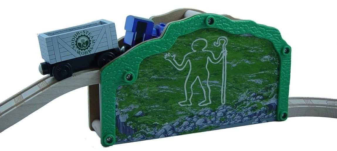 Quarry Mine Tunnel and Track Thomas & Friends Wooden Railway Train Tank Engine Brand New... by