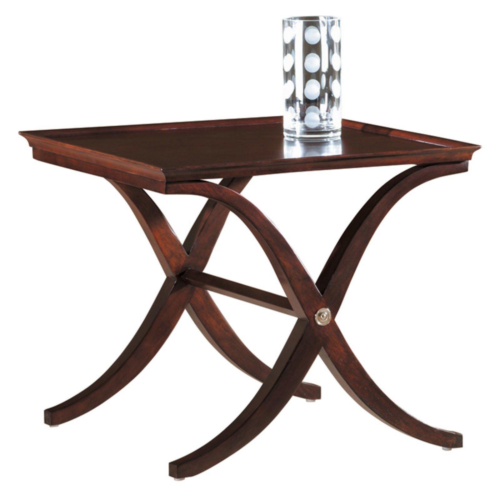 Hekman Metropolis X-base Lamp Table