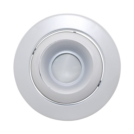 Capri Lighting P4LEW White Baffle White Flange 4