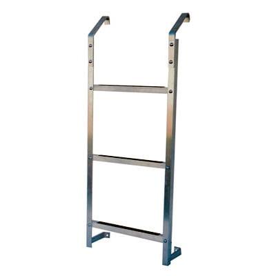 Ultra Protect Model 3 Step Aluminum Basement Window Well